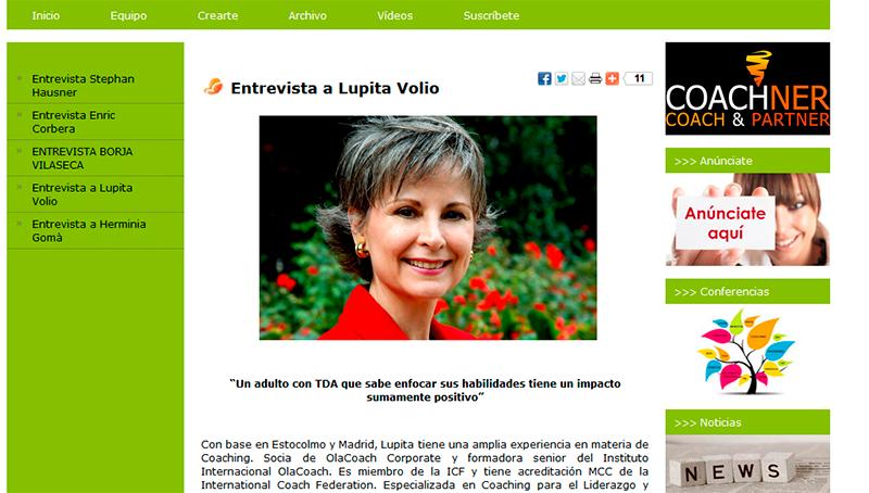 Entrevista a Lupita Volio